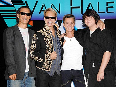 The current Van Halen lineup: